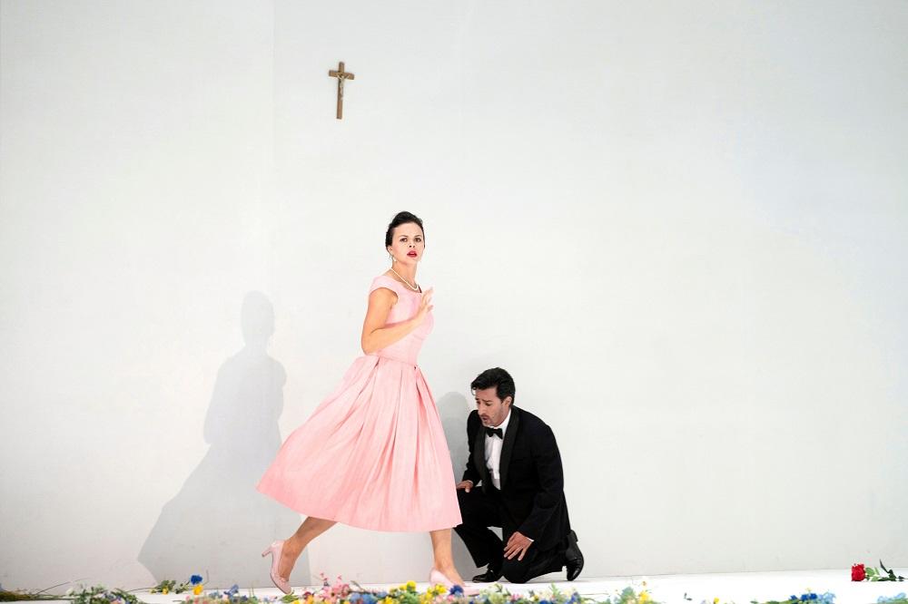 Scene from Verdi's Luisa Miller at Glyndebourne