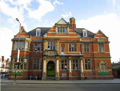 The Bush Theatre at the Old Library