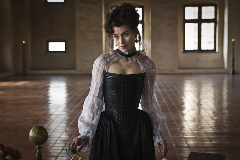 Mamie McCoy as Milady in BBC One The Musketeers