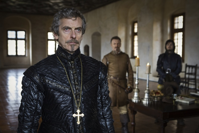 Peter Capaldi as Richelieu in BBC One The Musketeers