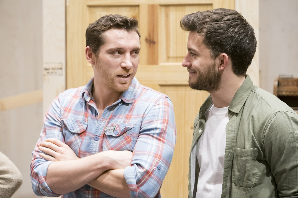 The York Realist rehearsal at the Donmar Warehouse