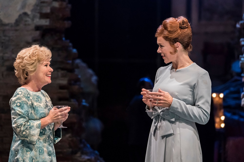 Imelda Staunton and Janie Dee in Follies
