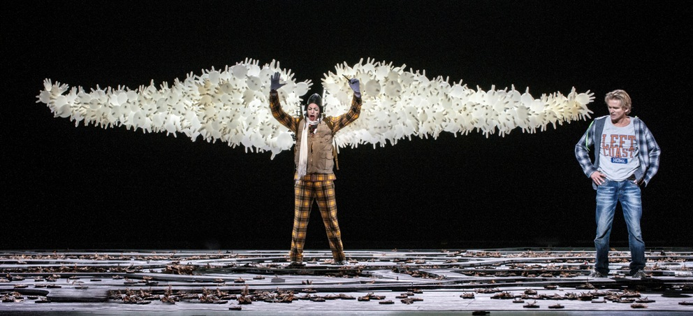 Scene from Norwegian Opera Peer Gynt