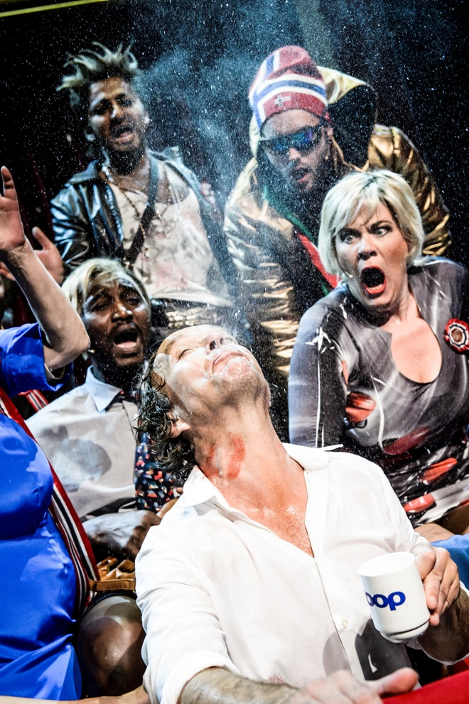 Scene from Norwegian National Theatre production of Peer Gynt
