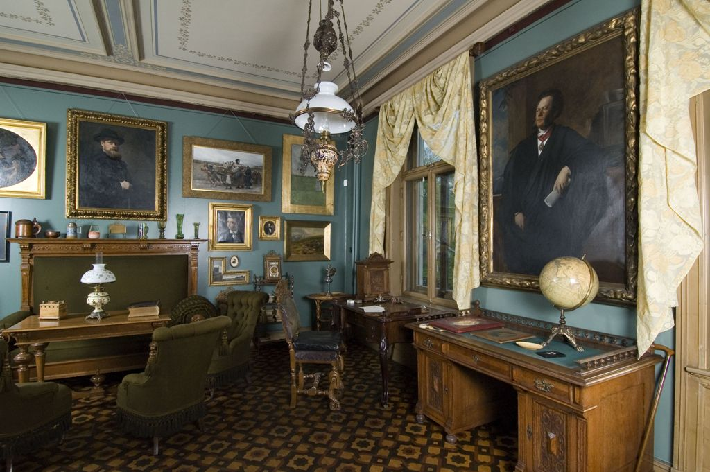 Ibsen's study in his Oslo apartment