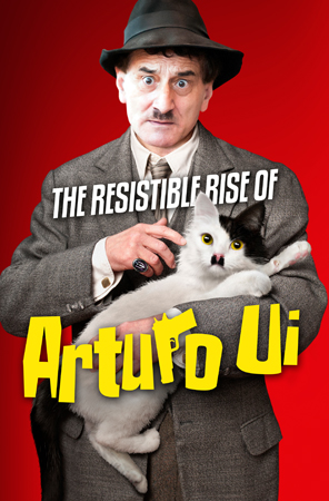 Poster design for The Resistible Rise of Arturo Ui