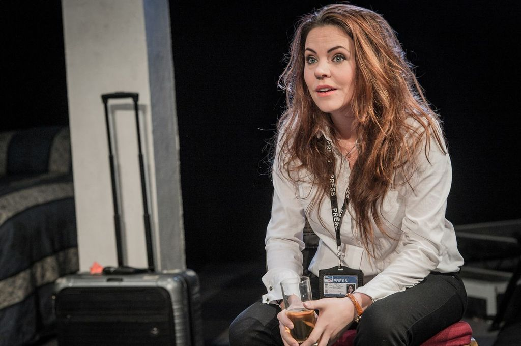 Rachel Tucker in Farragut North, Southwark Playhouse ©Robert Workman