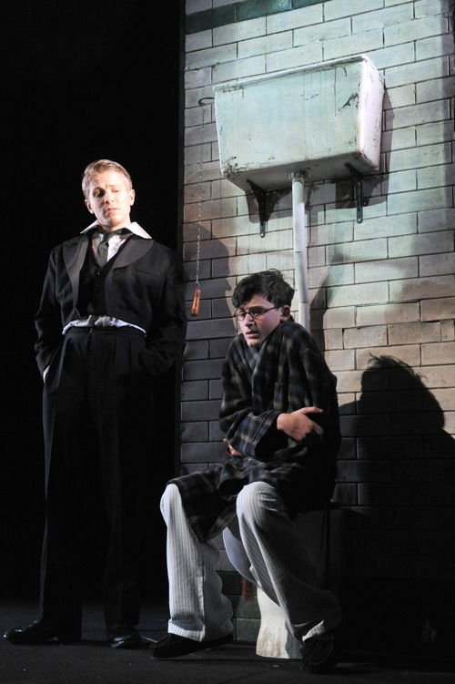 Roald_Dahls_Twisted_Tales_Image_2_Jonathan_Danciger_as_Young_Perkins_and_George_Rainsford_as_Foxley_Lyric_Hammersmith_Photo_Alastair_Muir