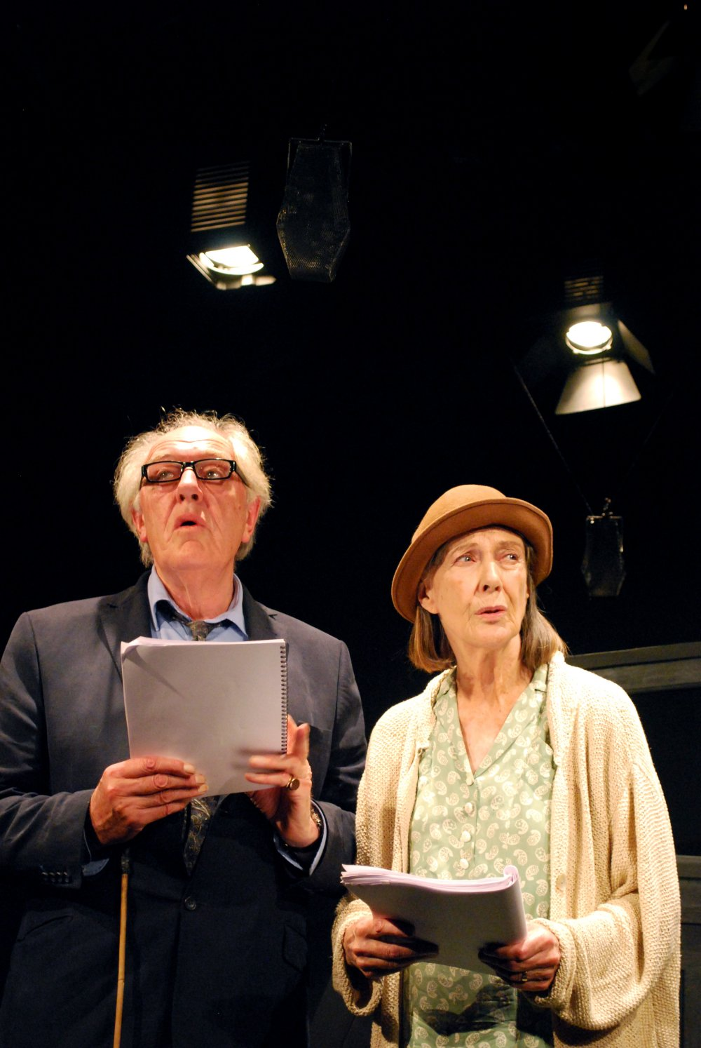 Michael Gambon and Eileen Atkins in Samuel Beckett's All That Fall at the Jermyn Street Theatre