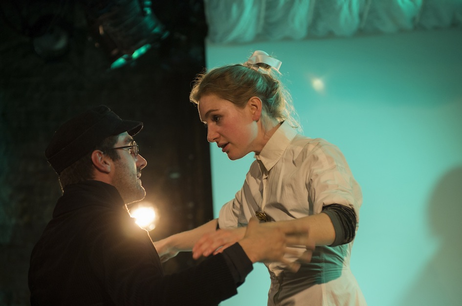 Nicholas Bishop and Jennie Gruner in A Tale of Two Cities