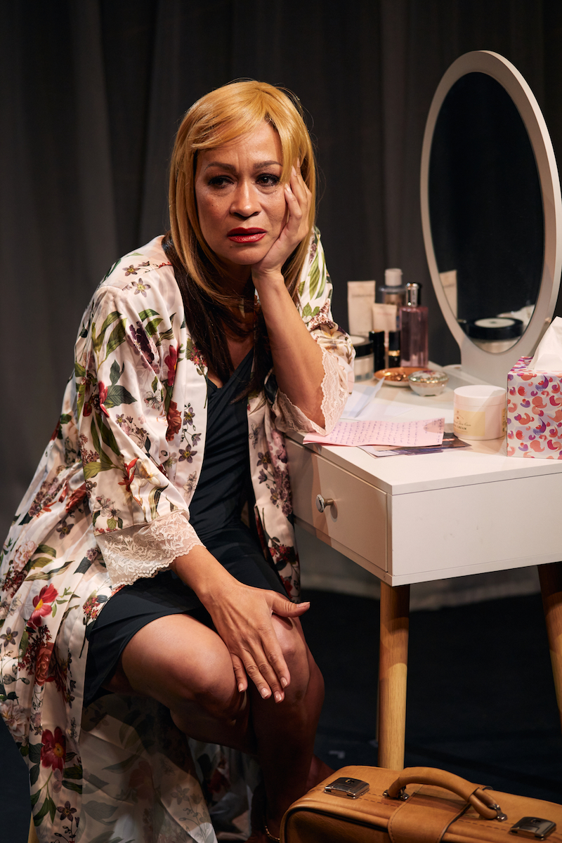 Martina Laird in '15 Heroines', filmed at the Jermyn Street Theatre