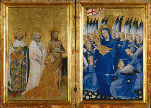 Wilton Diptych, National Gallery