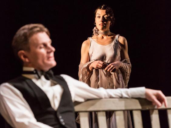Charles Edwards and Olivia Williams in Waste at the National Theatre
