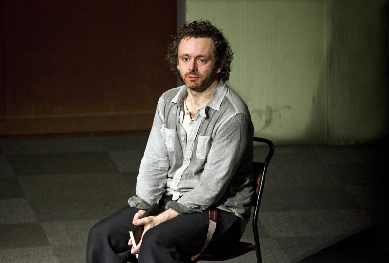 Michael Sheen as Hamlet at the Young Vic