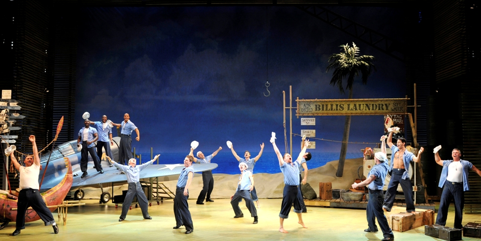 1 The Original Broadway Company of SOUTH PACIFIC credit Peter Coombs