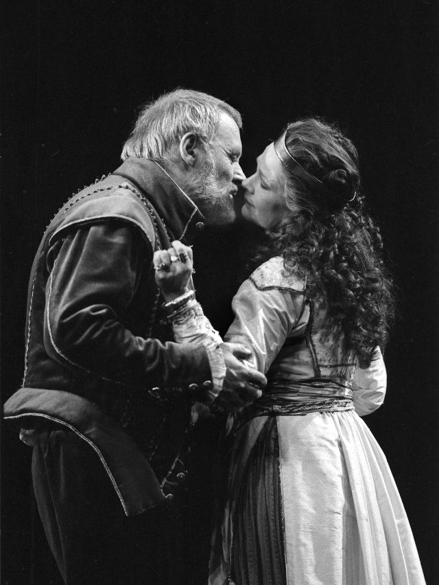 Anthony Hopkins and Judi Dench in 1987 at the NT