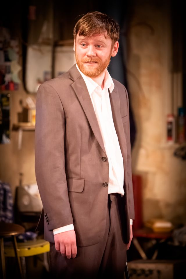 Brian Gleeson, son of Brendan, at the Donmar in The Night Alive