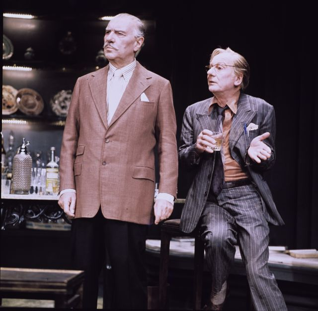 Gielgud and Richardson in No Man's Land