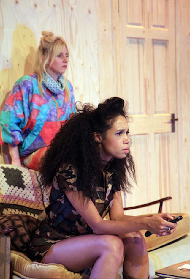 Sinead Matthews and Vinette Robinson at Southwark Plsyhouse