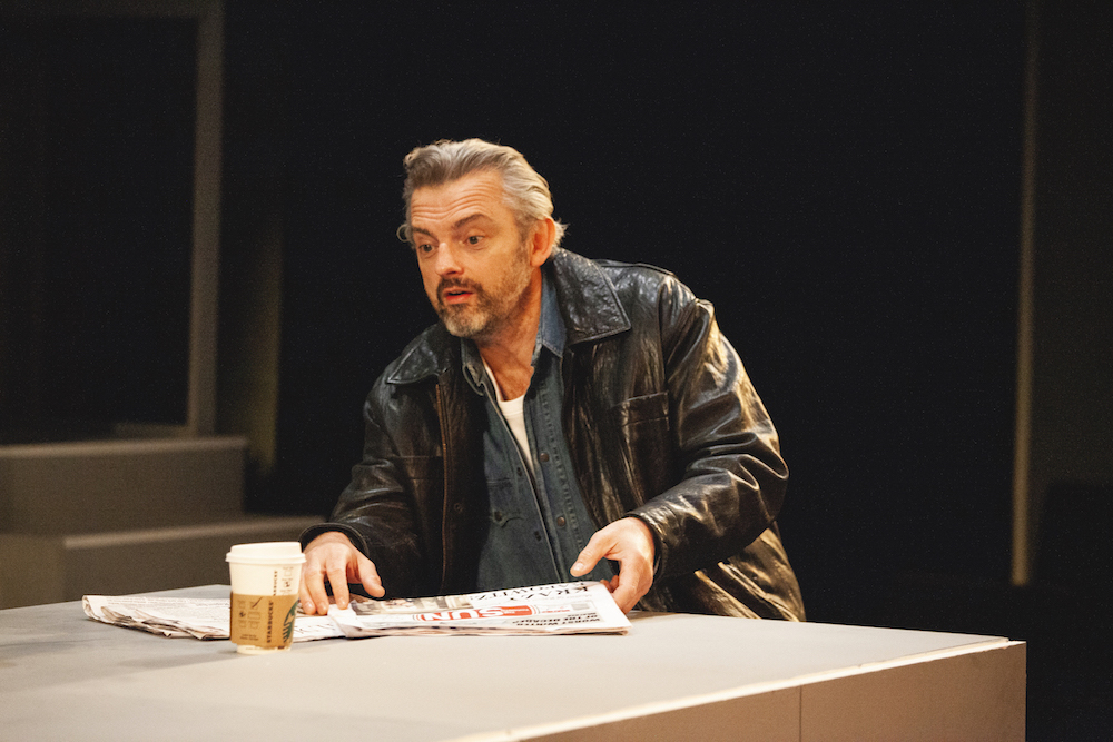 Neil Sheffield in 'Mother of Him' at the Park Theatre