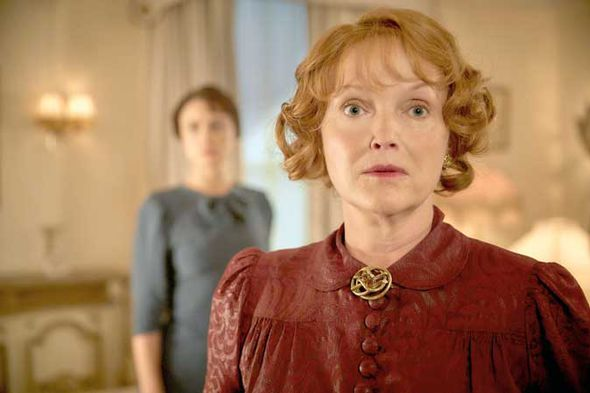 Miranda Richardson in And Then There Were None