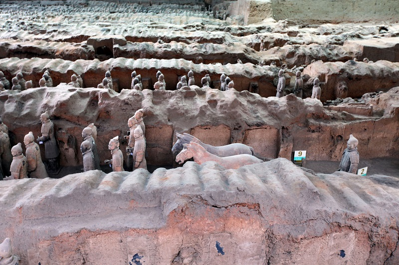 Terracotta Army Museum, BBC/Renegade Pictures