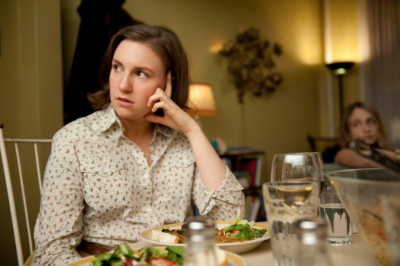 Hannah (Lena Dunham) in Girls