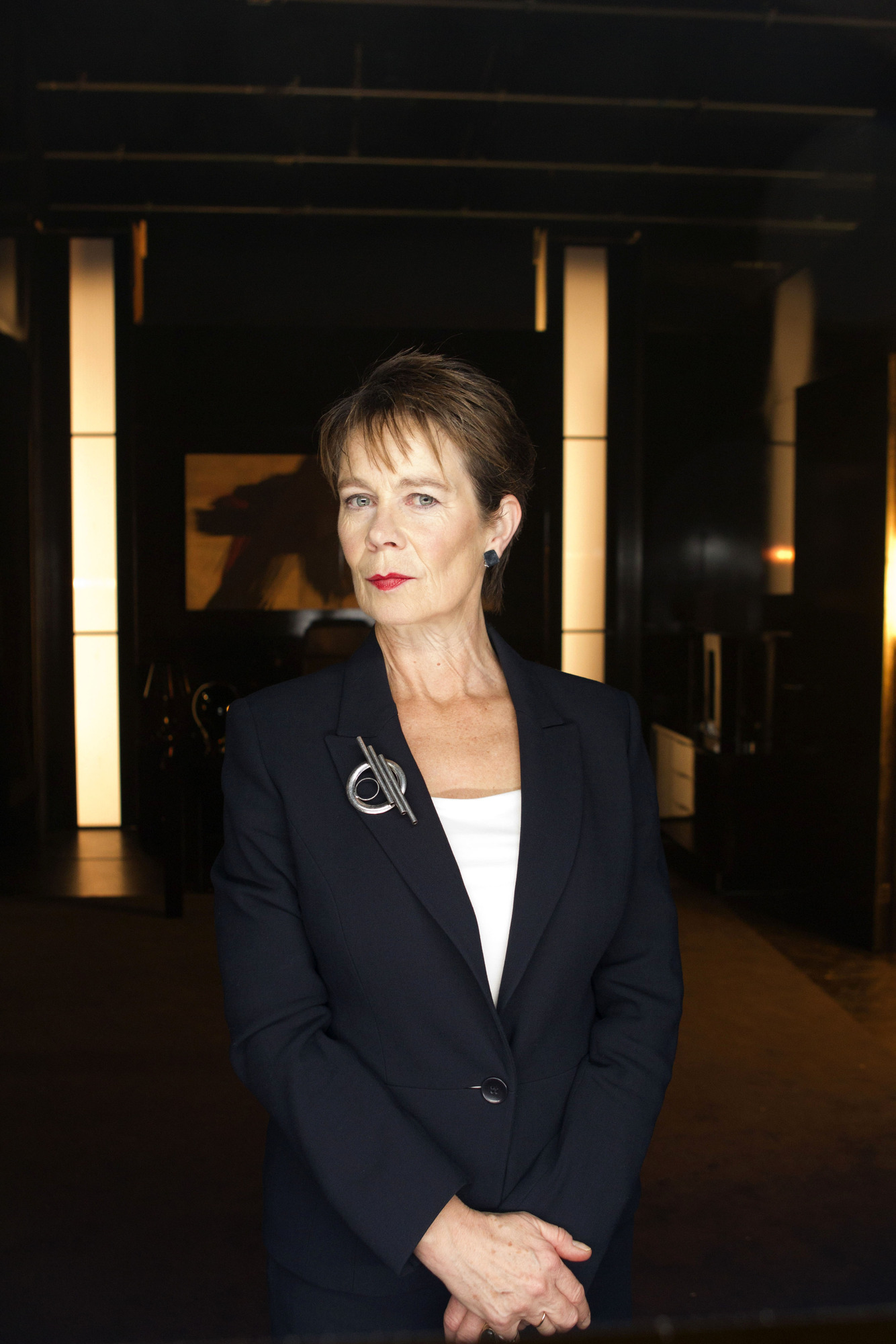 Celia Imrie in Doctor Who: The Bells of St John
