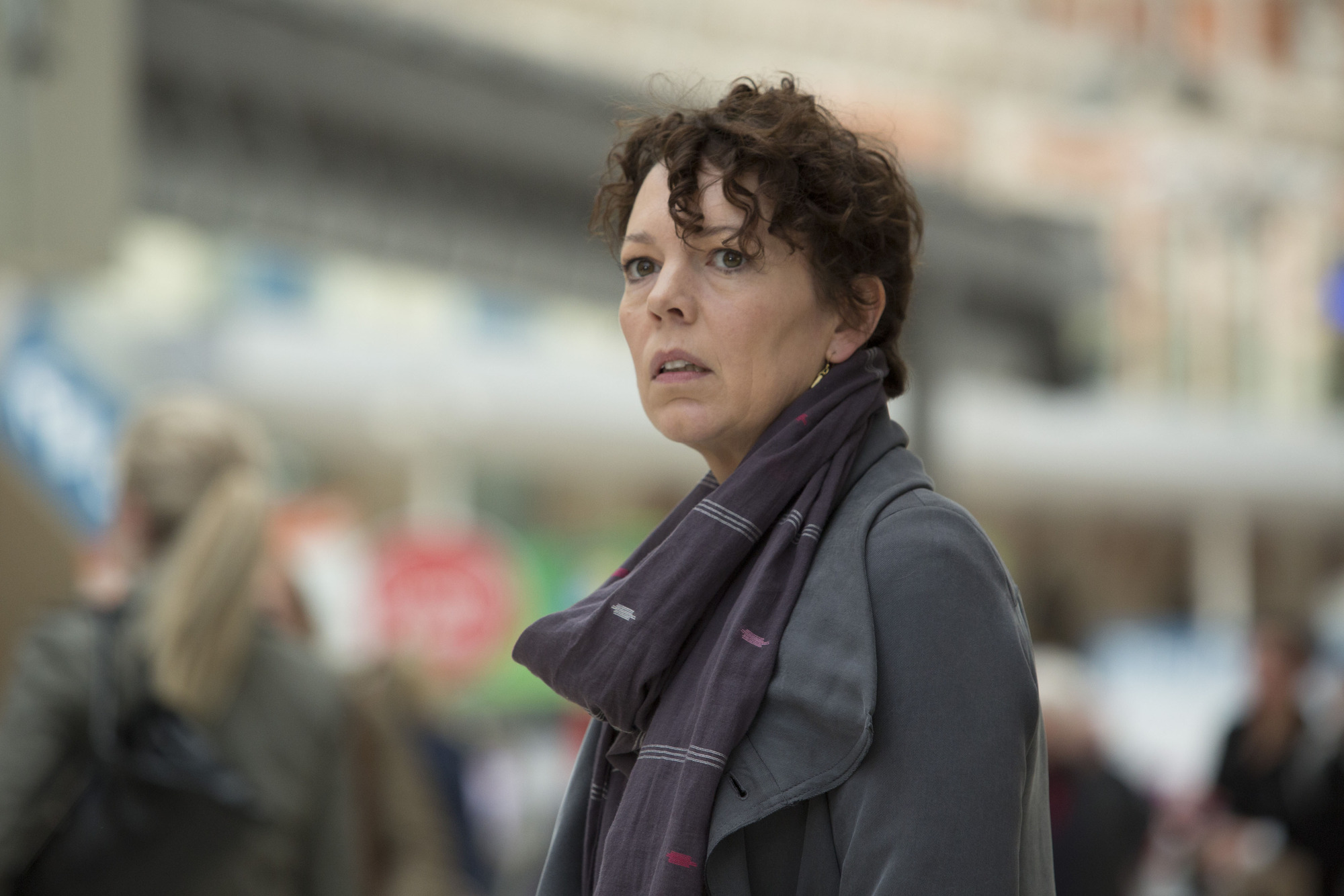 Olivia Coleman as Maggie in The 7.39