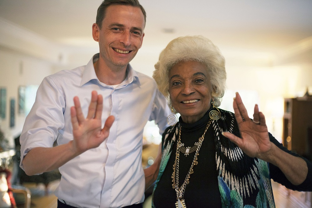 Utopia: Richard Clay with Nichelle Nichols