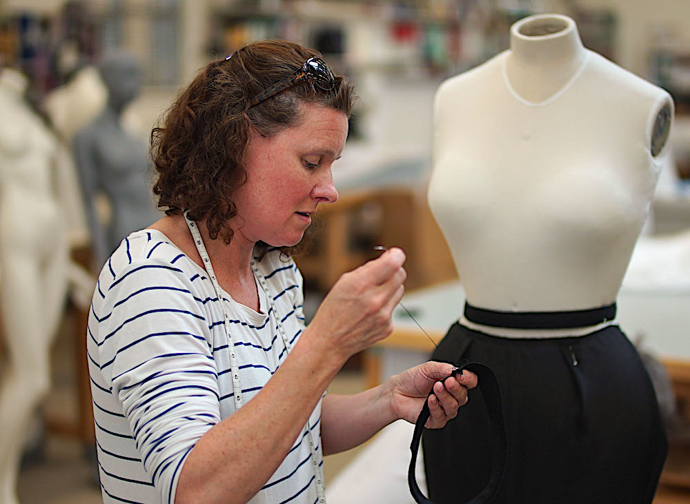 Dior dress restored in Secrets of the Museum,BBC2
