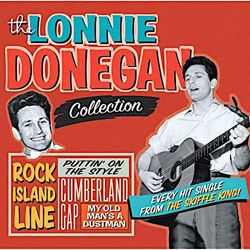 Lonnie Donegan album sleeve