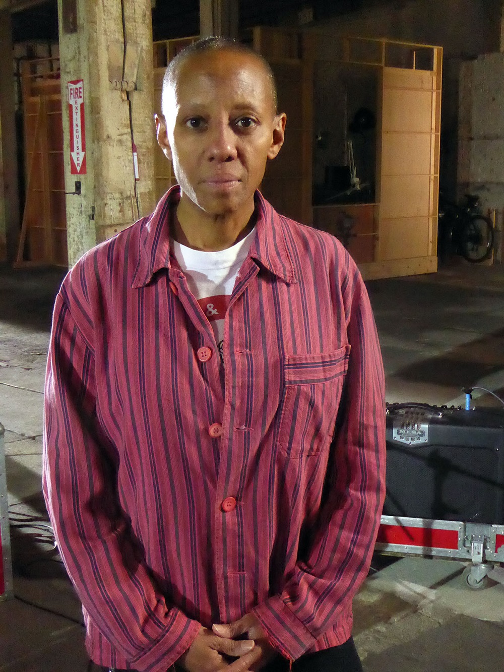 Gail Ann Dorsey in David Bowie: The Last Five years