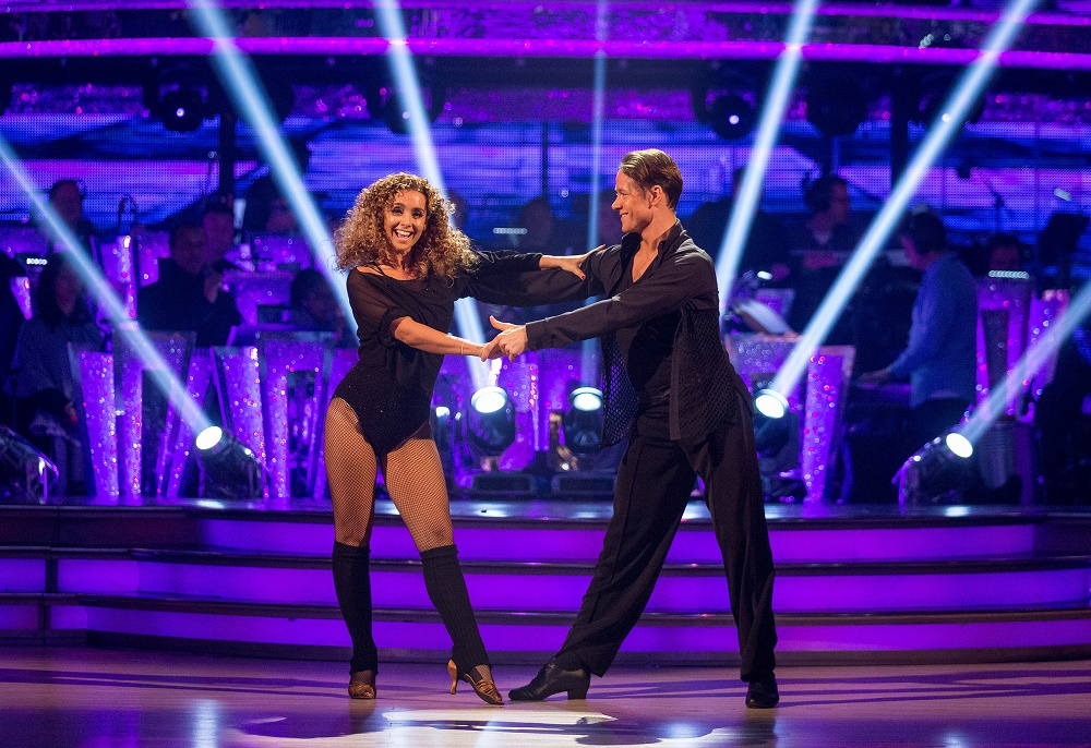 Louise Redknapp and Kevin Clifton perform in the final of Strictly Come Dancing 2016