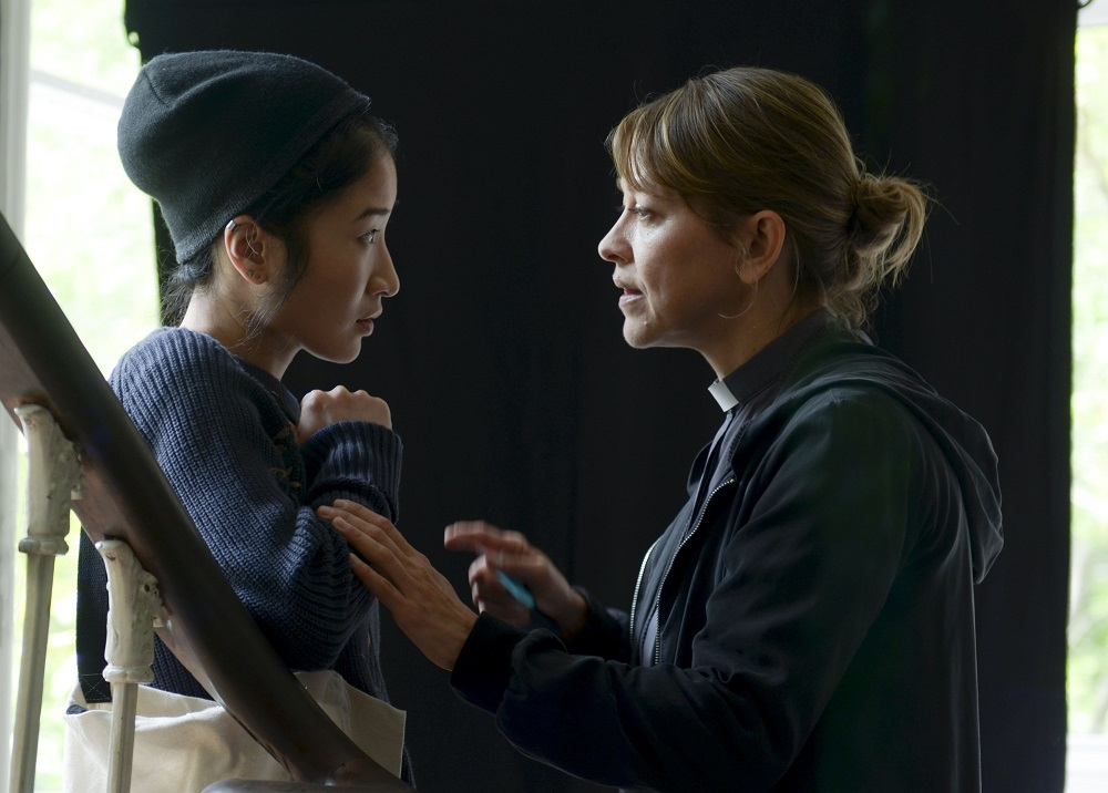 Kae Alexander and Nicola Walker in Collateral