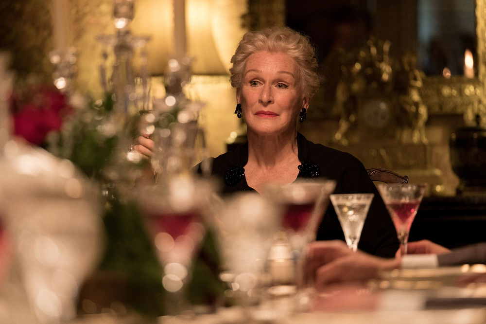 Glenn Close in Crooked House