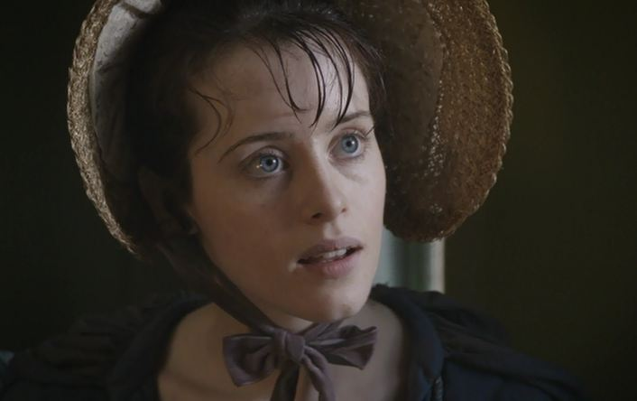 Claire Foy in Little Dorrit