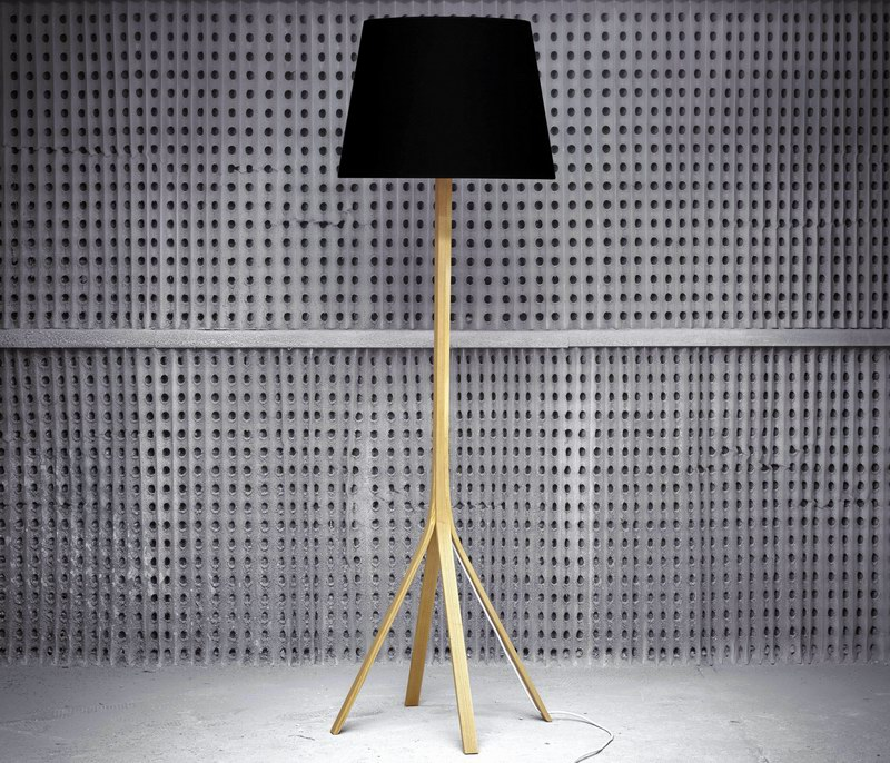 4 x 1 floor lamp by Jonathan Thomas at Maker furniture design