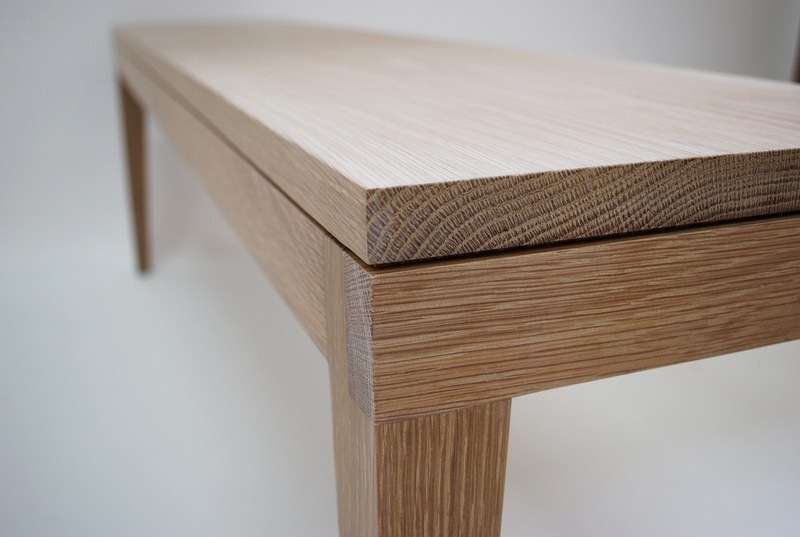 Wood table by Jonathan Thomas Maker furniture