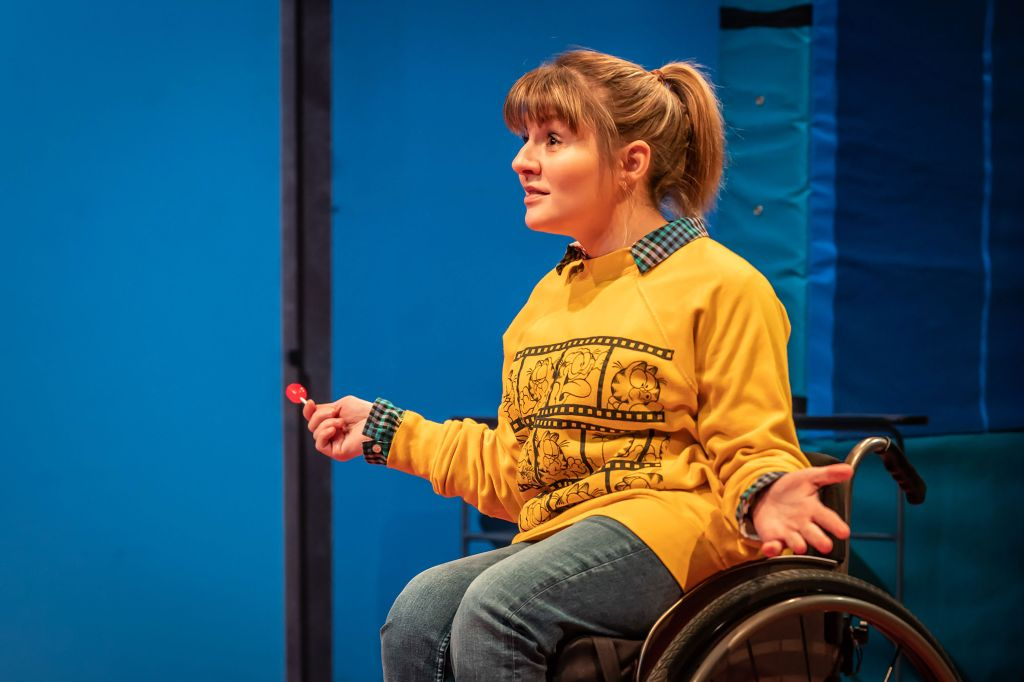 Ruth Madeley at the Donmar in 'Teenage Dick'