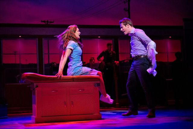 Waitress Adelphi Theatre Review Sweet If Sometimes Silly Musical Arrives From Broadway