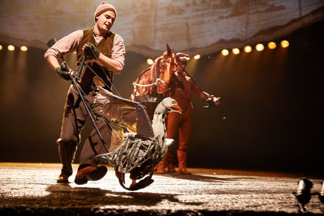 Billy Irving in 'War Horse'