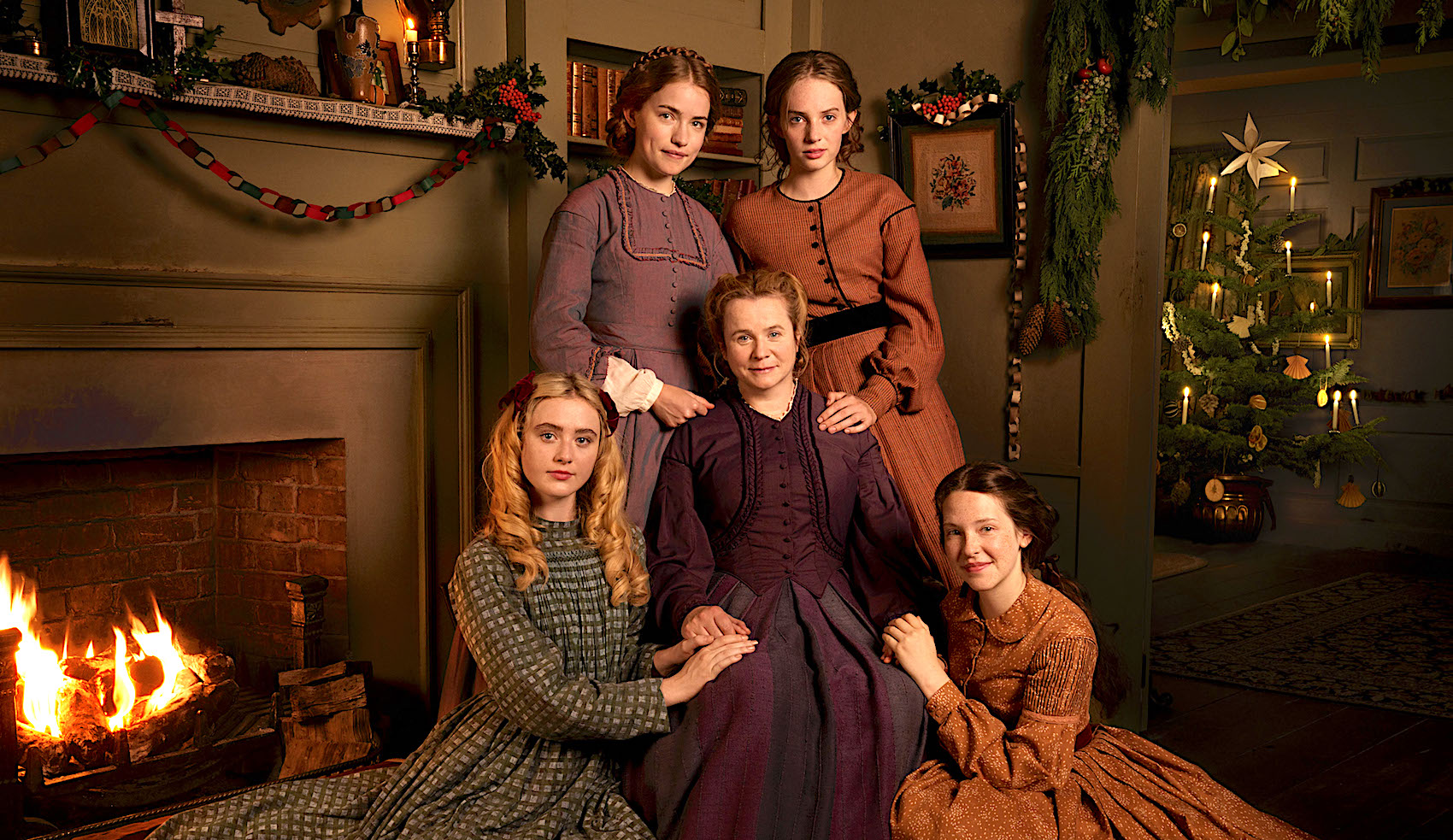 Little Women Bbc One Review Life During Wartime With The March Sisters