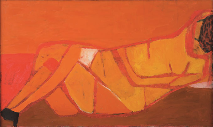 William Scott: Divided Figure, Jerwood Gallery, Hastings