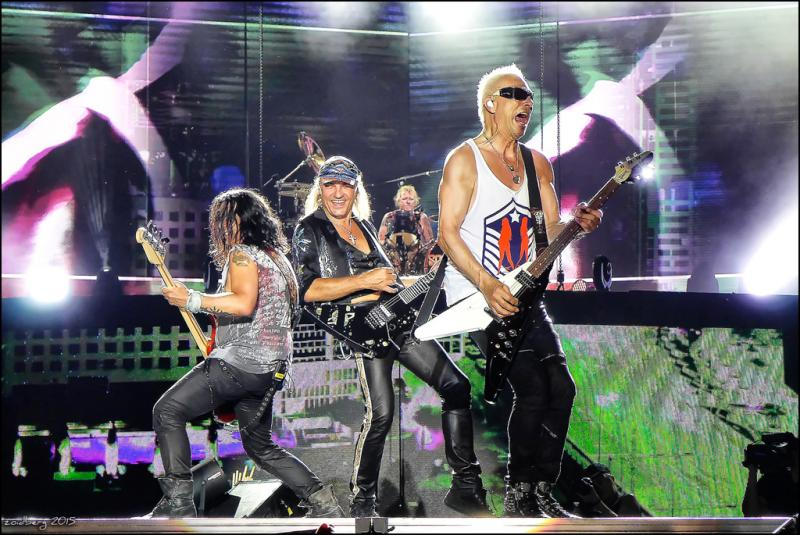 Scorpions/ Megadeth, O2 Arena review - by turns lavish, silly and