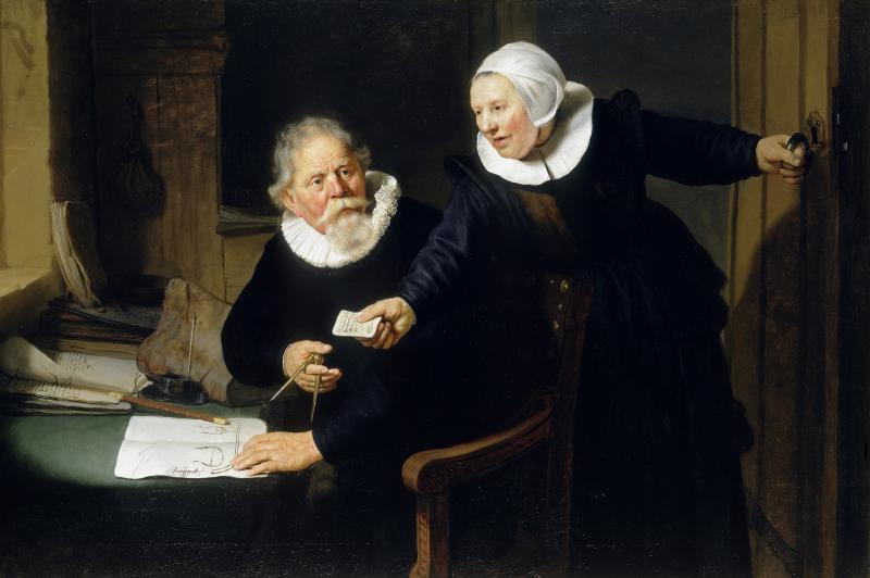 Rembrandt van Rijn, 'The Shipbuilder and his Wife: Jan Rijcksen and his Wife, Griet Jans', 1633 Credit: Royal Collection Trust / (c) Her Majesty Queen Elizabeth II 2019