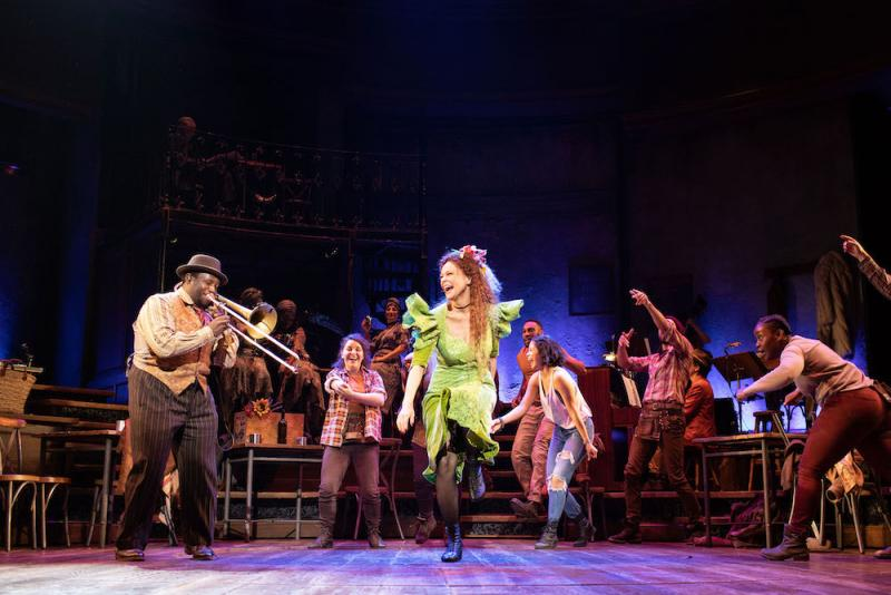 Hadestown, National Theatre review - new folk musical is ...
