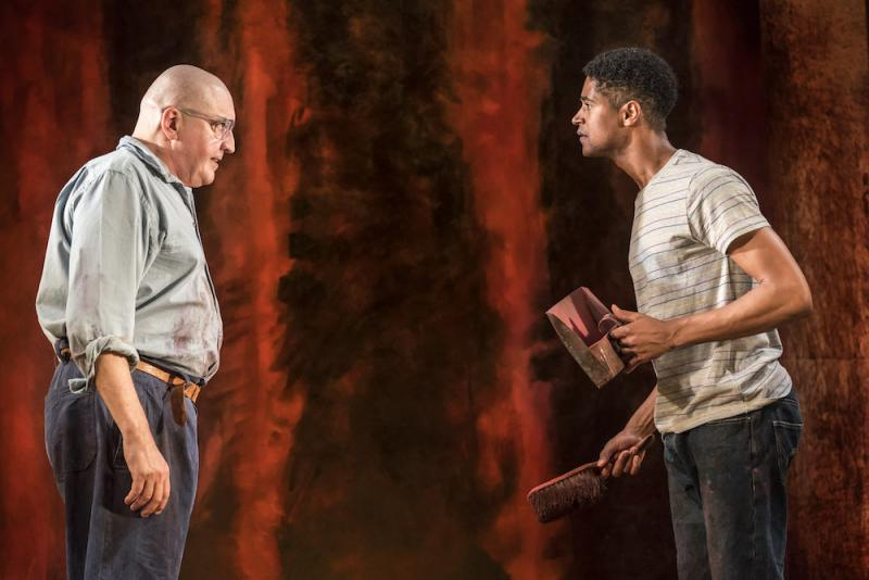 Red wyndhams theatre mark rothko drama paints a vivid picture art attack mark rothko alfred molina challenges his assistant ken alfred enochjohan persson solutioingenieria Images