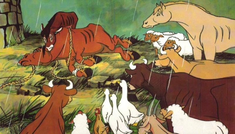 a review of animal farm as an allegory of stalinism The book animal farm was published during the same time that stalin was  we  have so large base of authors that we can prepare a unique summary of any.