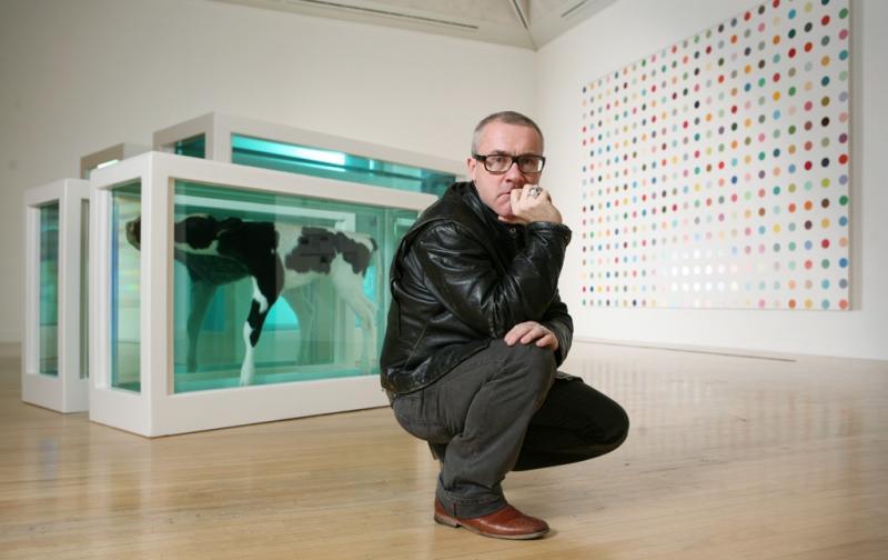 Damien Hirst Genius Or Con Artist The Arts Desk